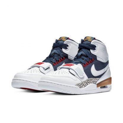 check out dace3 d0ecd 70% Off Jordan Legacy 312 White/Royal/Red Mens Basketball Shoe - cheap  yeezys zebra - Q0386