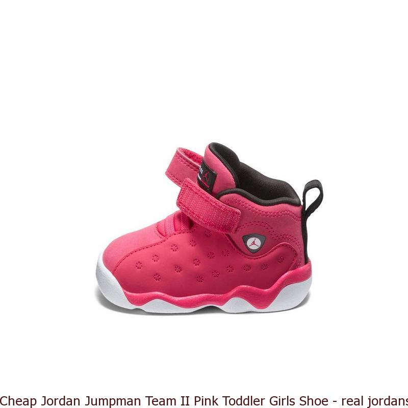 461f9507e469 Cheap Jordan Jumpman Team II Pink Toddler Girls Shoe – real jordans ...
