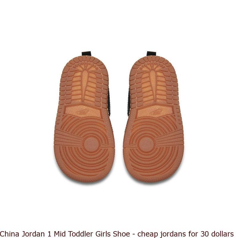5e6044b378 China Jordan 1 Mid Toddler Girls Shoe – cheap jordans for 30 dollars ...