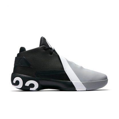 9050b6d50d75 Hot Sale Jordan Ultra Fly 3 Black White Smoke Grey Mens Basketball ...