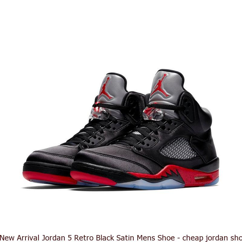 New Arrival Jordan 5 Retro Black Satin Mens Shoe - cheap jordan shoes in  china - Q0180