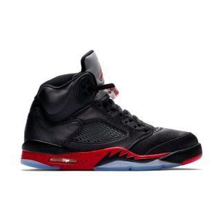 4e9d722ce9bc1 ... New Arrival Jordan 5 Retro Black Satin Mens Shoe - cheap jordan shoes  in china - Q0180 ...