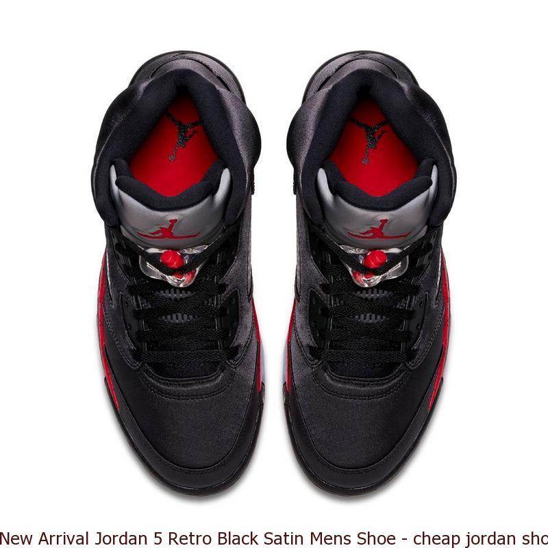 702d6b01391c New Arrival Jordan 5 Retro Black Satin Mens Shoe – cheap jordan shoes in  china ...