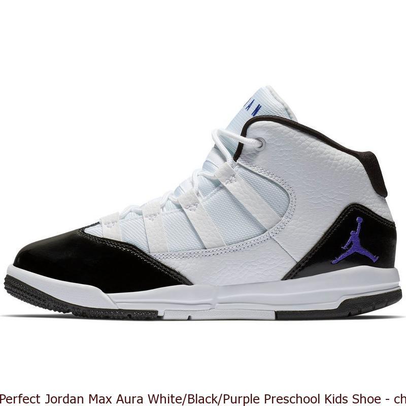 white purple black jordans