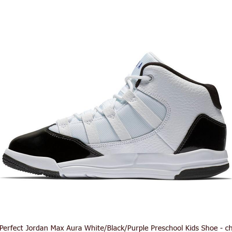 Perfect Jordan Max Aura White/Black