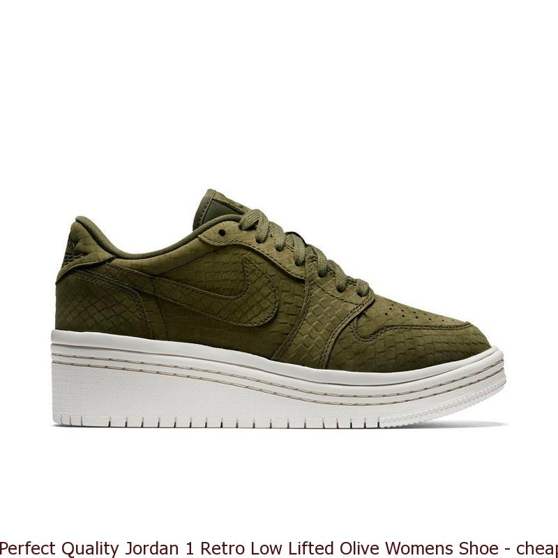 df96f79c4 Perfect Quality Jordan 1 Retro Low Lifted Olive Womens Shoe – cheap nike  shoes ...