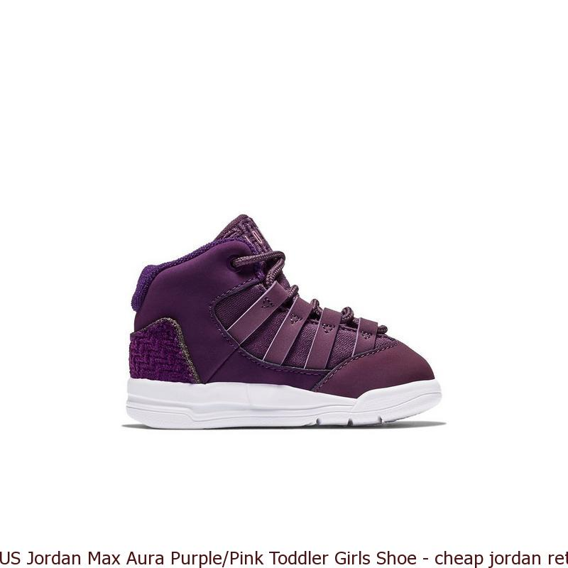 buy popular 3928f 5ebc3 US Jordan Max Aura Purple Pink Toddler Girls Shoe – cheap jordan retro 5 ...